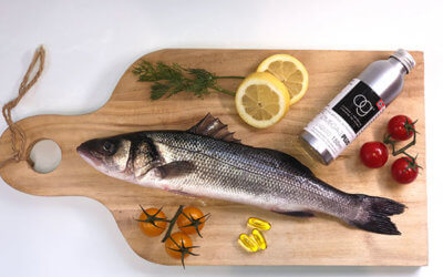 A lack of omega-3 oil in the diet can shorten life even more than smoking
